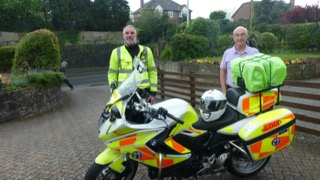 DMCA 2022 Centenary Fund Donation to Devon Blood Bikes